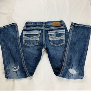 BKE Aiden Straight Distressed Jeans Size 29R